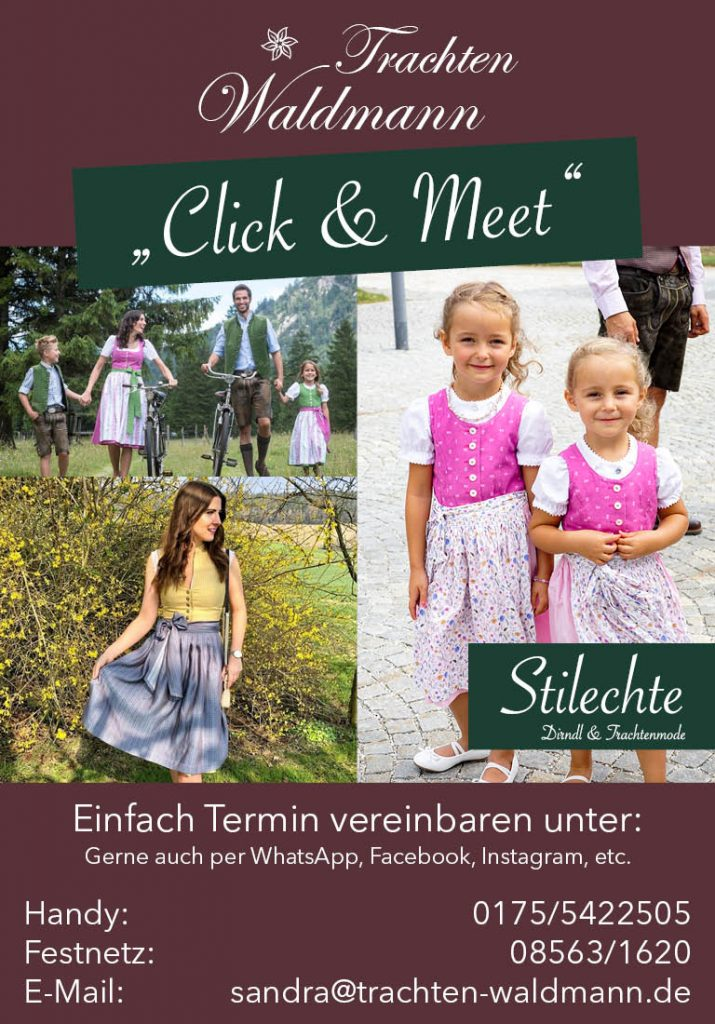 Click and Meet Trachten Waldmann